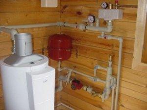 Газове опалення в заміському будинку