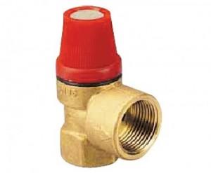Запобіжний клапан для системи опалення