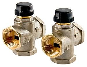 Триходовий термостатичний змішувальний клапан