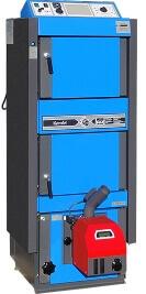 Комбінований твердопаливний котел C18SP, фото.