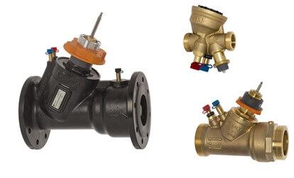 Балансувальні клапани TA-Modulator DN 15-80.