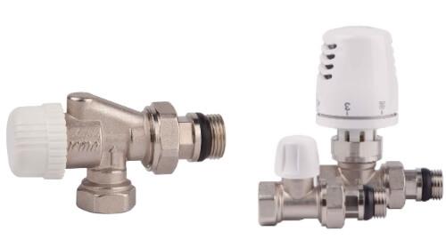 Новинки ICMA - термостатичний вентиль, комплект.