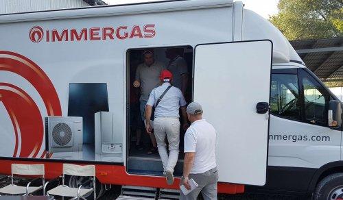 Дорожнє мобільне шоу IMMERGAS CAIUS BIGA ROAD SHOW.