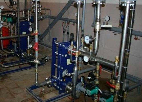 ІТП багатоквартирного дому - опалення, водопостачання.
