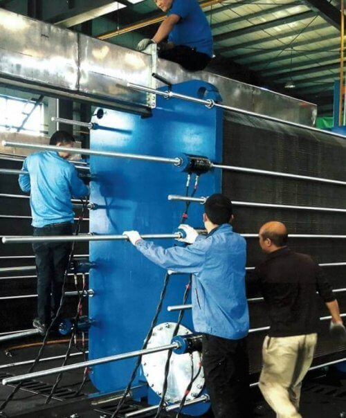 Найбільший пластинчатий теплообмінник DANFOSS-SONDEX