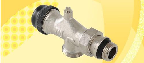 Термостатичний радіаторний клапан VALTEC VT.049.NE