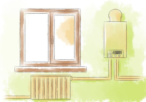Індивідуальне опалення в квартирі малюнок.