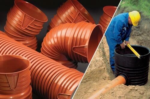 Труби ПВХ для каналізації - фітинги, монтаж.