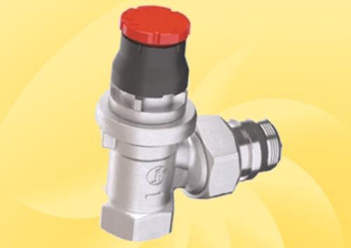 Радіаторний клапан з інтегрованим балансуванням GIACOMINI DB.