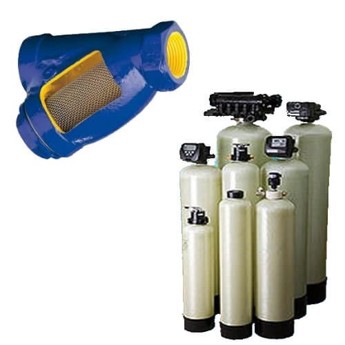 Водопідготовка: фільтр, системи помякшення.