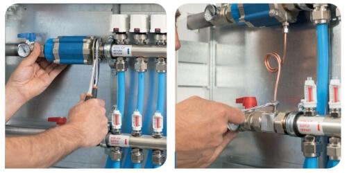 Балансувальны клапани WATTS MH інсталляція.