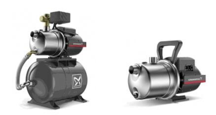 Нове насосне обладнання GRUNDFOS насоси JP і установки водопостачання JP PT-H.