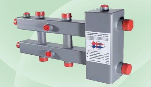 VTc.100.SH - розподільник та гідрострілка VALTEC.