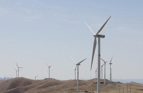 Вітроелектростанція.