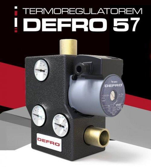 Терморегулятор для твердопаливного котла DEFRO 57.
