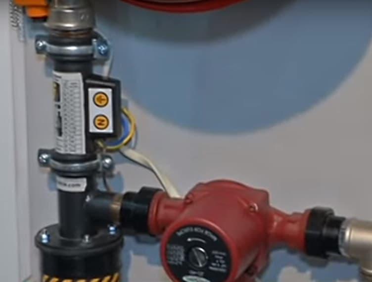 Електродне опалення - котел та насос.