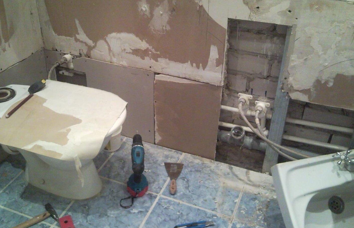 Ремонт в ванній кімнаті