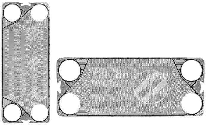 NX350M - нові пластини келвіон для розбірного теплообмінника.