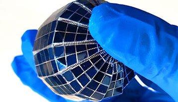 Сонячна сфера для вироблення електроенергії.