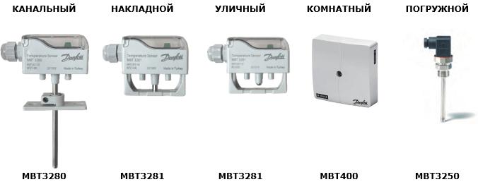 Нові датчики від ДАНФОСС.