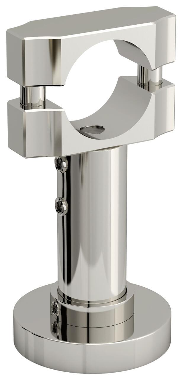 підлоговий кронштейн для дизайн-радіатора Естет
