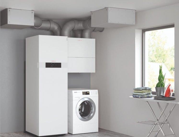 Система централізованої вентиляції Vitovent 300-W.