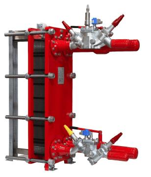 Пластинчасті теплообмінники типу SW.