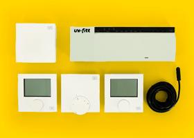 Бездротова система управління температурою в приміщенні UNI-FITT