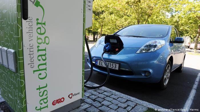 Електромобіль в Норвегії.