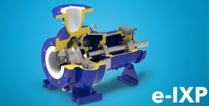 Насос Lowara для промислового застосування серії e-IXP.