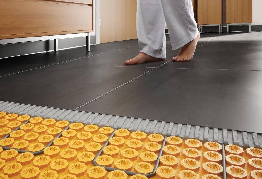 Електрична тепла підлога - комфорт.