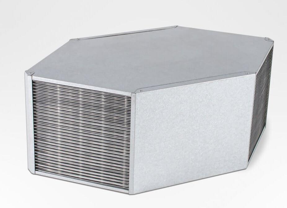Пластинчастий протиточний рекуператор PANOVA