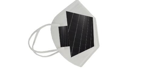 Захисні маски з сонячними батареями