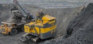 Добування вугілля.