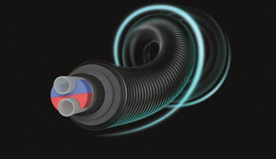 Теплоізольовані труби Ecoflex